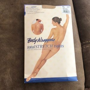 Convertible body tights tan